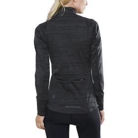 Craft Ideal Thermo Jersey Damen black melange